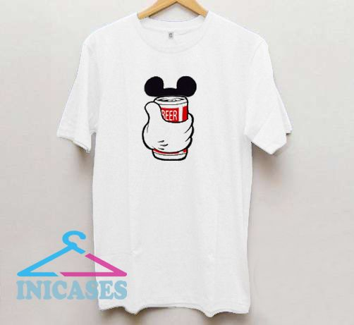 Beer Mickey T shirt