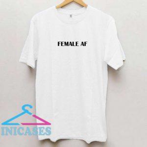 Female Af T shirt