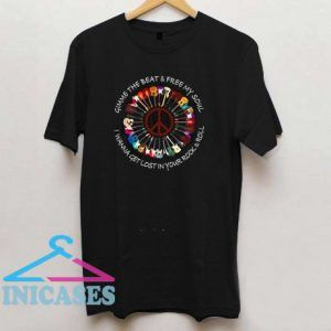 Hippie Guitar T Shirt