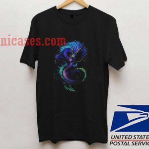 Purty dragons T shirt