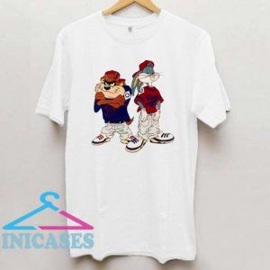 Taz and Bugs Bunny T shirt