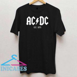 ACDC Est.1973 T Shirt