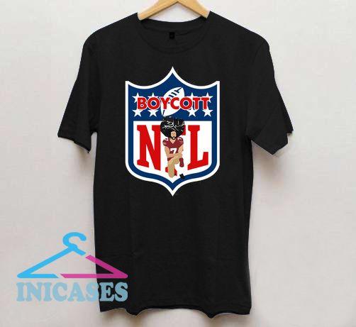 f3ffd97e6 Colin Kaepernick Boycott NFL T shirt