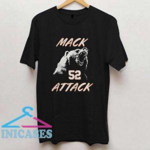 Mack Attack Bear T Shirt