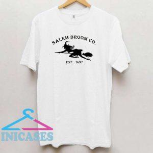 Salem Broom Co Est 1692 T Shirt