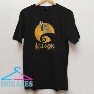 The Raptor King Skellington Halloking T Shirt