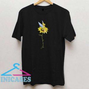Tinker Bell You are my sunshine sunflower T shirt