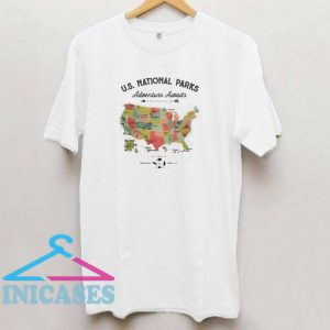 US national parks adventure awaits T shirt