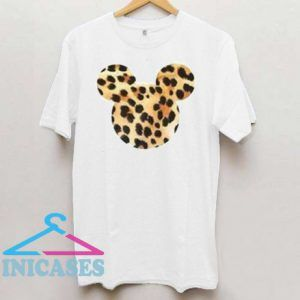 Leopard Mickey Mouse T Shirt