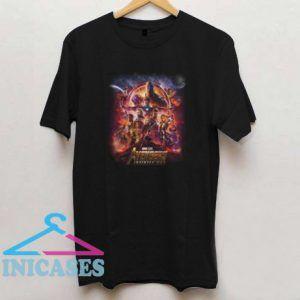 Marvel studios Avengers Infinity War T shirt