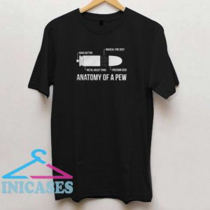The Original Anatomy of a Pew T shirt