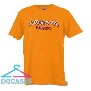baby girl japanese T shirt