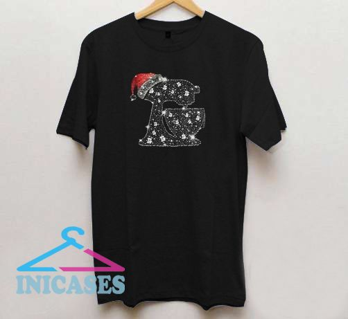 Bread making Rhinestone Christmas T shirt