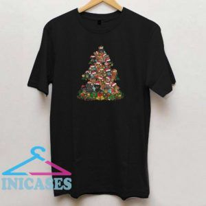 Funny Dachshunds Christmas Tree T shirt