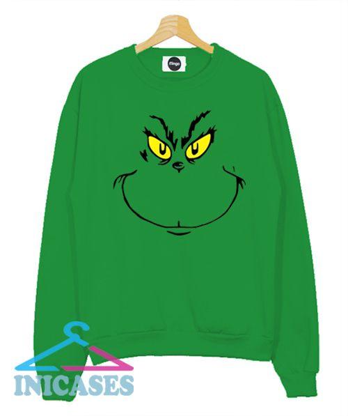 Grinch Stole Christmas Holiday Sweatshirt Men And Women