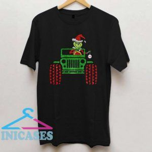 Grinch in Jeep T Shirt