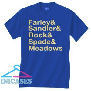 Jonah Hill Farley & Sandler & Rock & Spade & Meadows T Shirt