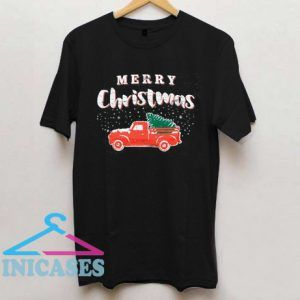 Merry Christmas Truck T Shirt