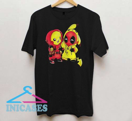 e94c5618 Ryan Reynolds showing off his Pikachu Deadpool T Shirt