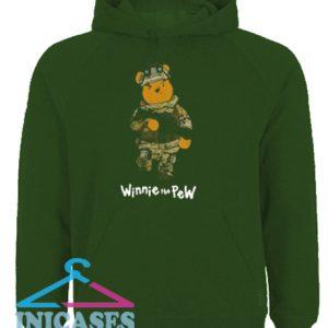 Winnie The Pew Bear Soldier Hoodie pullover