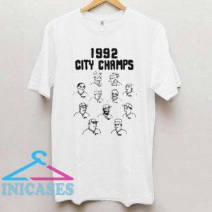 1992 City Champs T Shirt