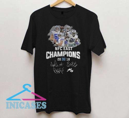 27e18e7d Dallas Cowboys NFC east champions 2018 T shirt