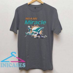 Dolphins Miami Miracle Kenyan Drake Beats The Patriots T shirt