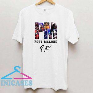 Post Malone Signature T Shirt