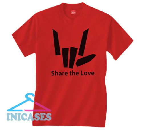 Share the Love Valentines T Shirt