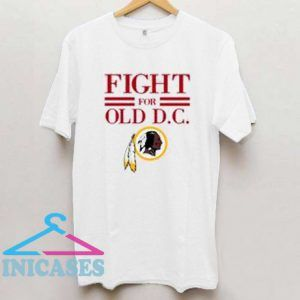 Washington Redskins fight for old DC T Shirt