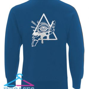 All Seeing Psychic Circle Sweatshirt Men And Women