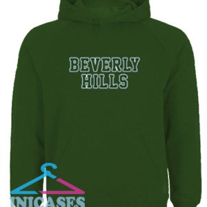 Beverly Hills Green Hoodie pullover