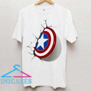 Captain America 3D Shield T Shirt