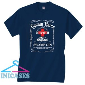 Captain Pierce mash 4077 original swamp gin T shirt