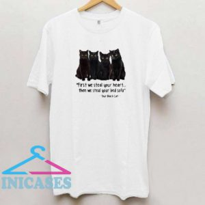First We Steal Your Heart Then We Steal Your Bed Sofa T Shirt