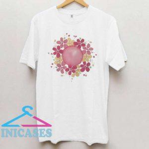 Floral Mandala T Shirt