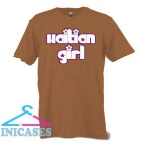 Haiti Girl With Flowers T Shirt
