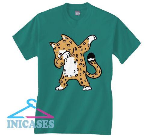 Jaguar dabbing jungle cat T Shirt
