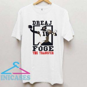 Jared Goff dreaj foge the transfer T shirt