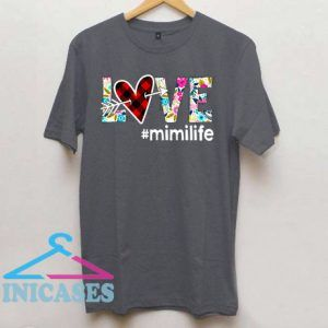 Love mimilife Flower T Shirt