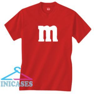 M Font T Shirt
