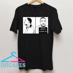Martin Luther King Jr Mugshot T Shirt