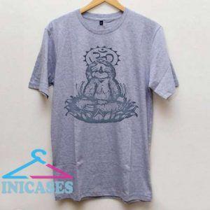Meditating Sloth T Shirt