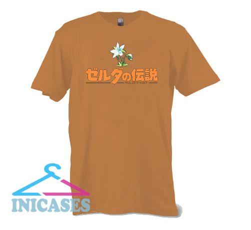 The Legend of Zelda Japanese T shirt