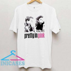 pretty in pink T shirt