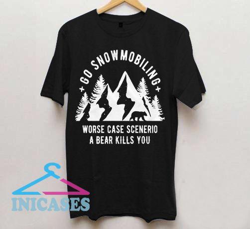 Snowmobile T shirt