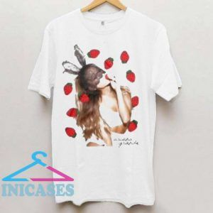 Ariana Grande Strawberry T Shirt