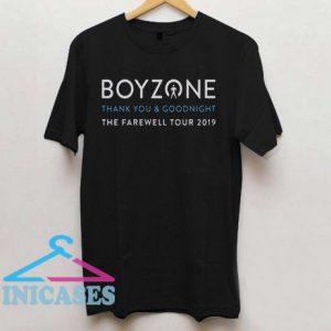 BOYZONE The Farewell Tour T Shirt