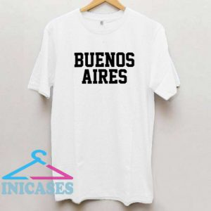 Buenos Aires Varsity Style T Shirt