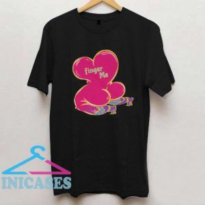 Finger Me Wicked Candy Hearts T Shirt